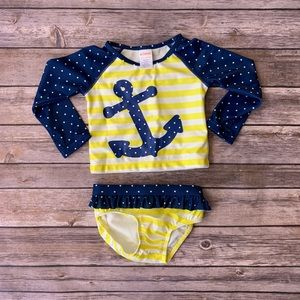 Anchor bathing suit 6-12 mos